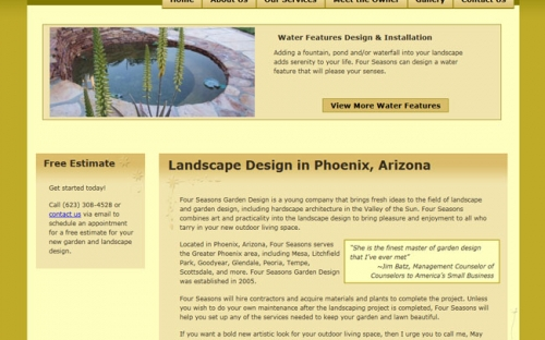View The Full Image Four Seasons Garden Design Website Home